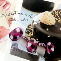 バレンタインネイル010